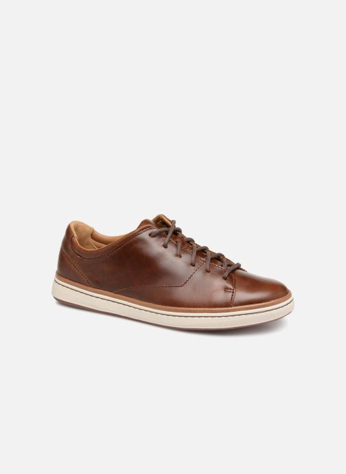 Baskets Clarks Unstructured Norsen Lace Marron vue détail/paire