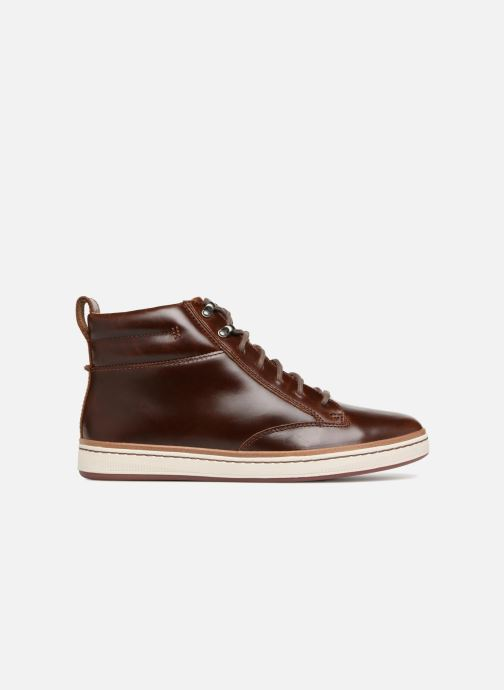 Baskets Clarks Unstructured Norsen Mid Marron vue derrière