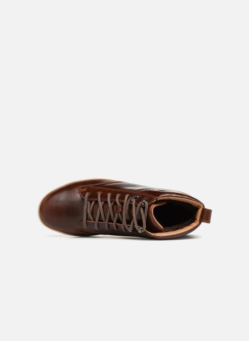 Sneakers Clarks Unstructured Norsen Mid Bruin links
