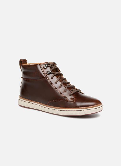 Sneakers Clarks Unstructured Norsen Mid Bruin detail
