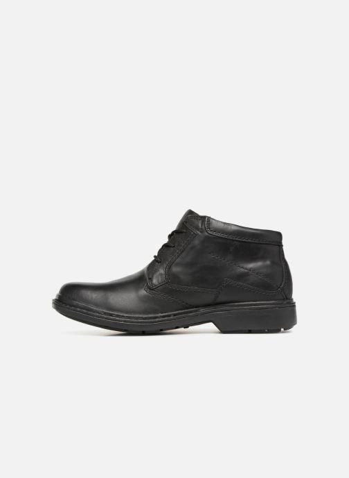 Bottines et boots Clarks Unstructured Rockie Hi GTX Noir vue face