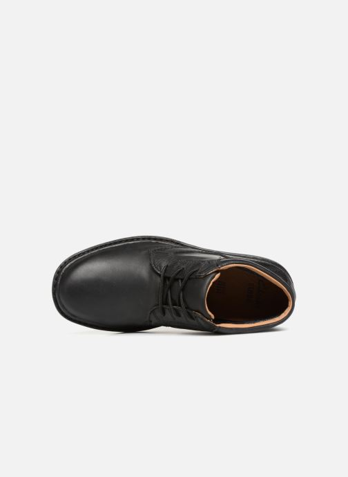 Bottines et boots Clarks Unstructured Rockie Hi GTX Noir vue gauche