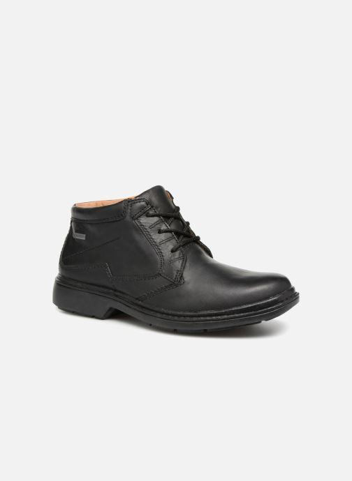 Bottines et boots Clarks Unstructured Rockie Hi GTX Noir vue détail/paire
