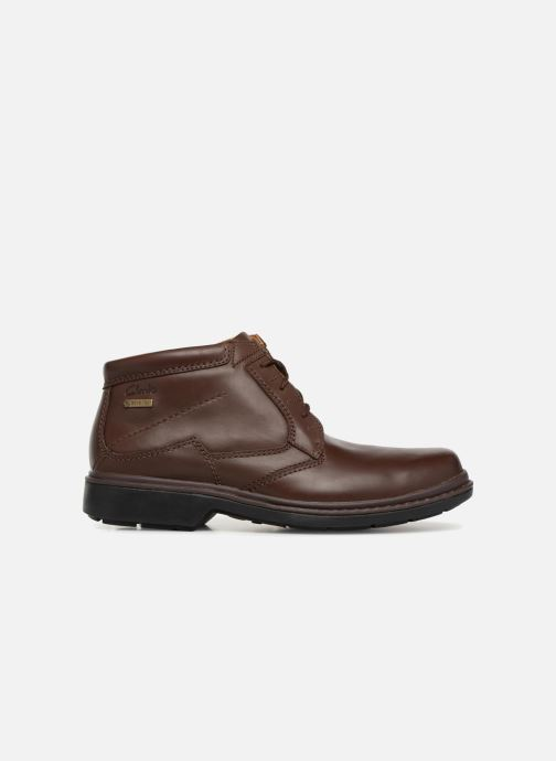 Boots en enkellaarsjes Clarks Unstructured Rockie Hi GTX Bruin achterkant