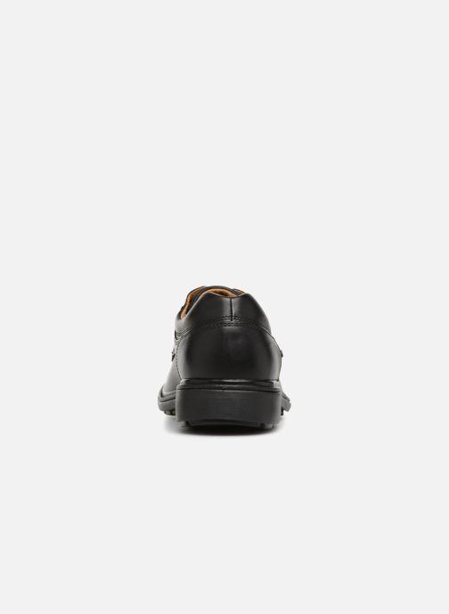 Chaussures à lacets Clarks Unstructured Rockie Lo GTX Noir vue droite