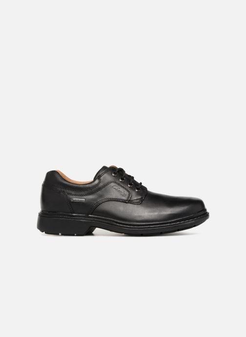 Chaussures à lacets Clarks Unstructured Rockie Lo GTX Noir vue derrière