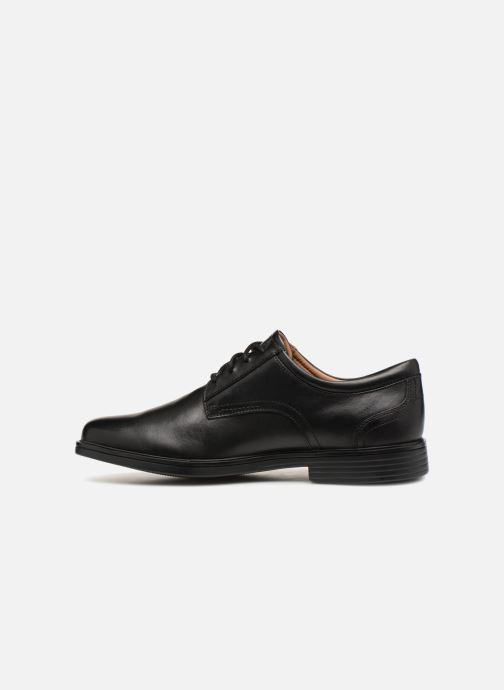 Chaussures à lacets Clarks Unstructured Un Aldric Lace Noir vue face