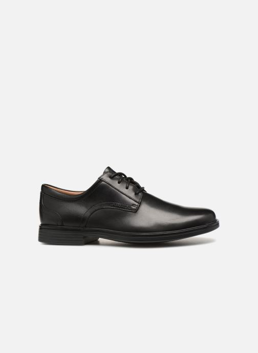 Chaussures à lacets Clarks Unstructured Un Aldric Lace Noir vue derrière