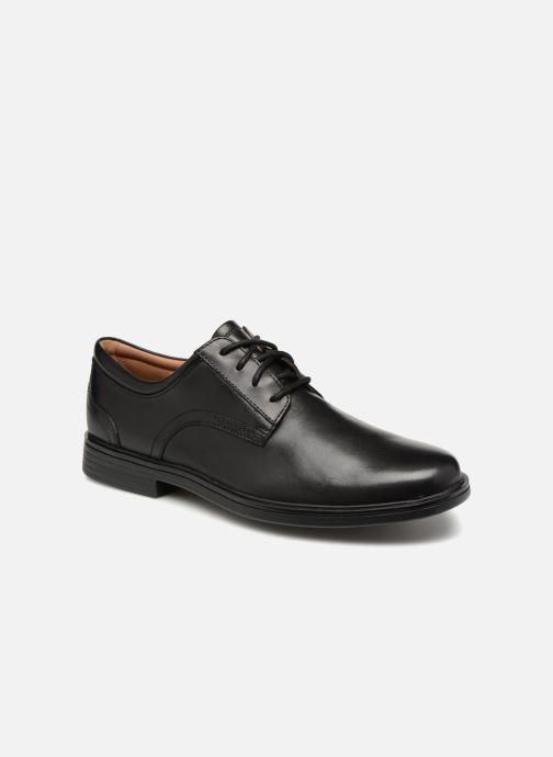 Chaussures à lacets Clarks Unstructured Un Aldric Lace Noir vue détail/paire