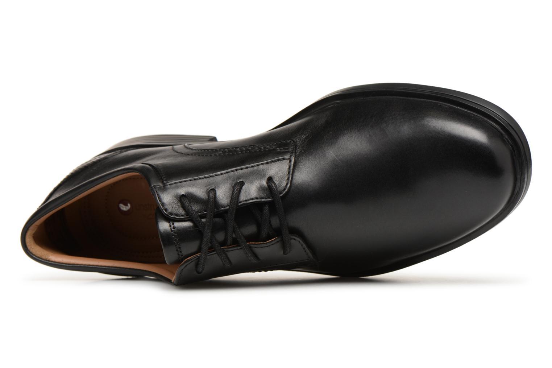 Chaussures à lacets Clarks Unstructured Un Aldric Lace Noir vue gauche