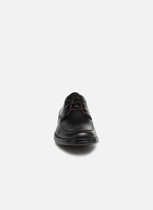 Schnürschuhe Clarks Unstructured Un Aldric Park schwarz schuhe getragen