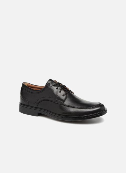 Zapatos con cordones Clarks Unstructured Un Aldric Park Negro vista de detalle / par