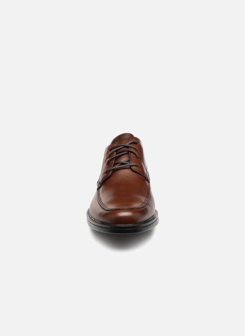 Chaussures à lacets Clarks Unstructured Un Aldric Park Marron vue portées chaussures