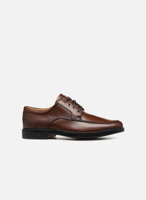 Chaussures à lacets Clarks Unstructured Un Aldric Park Marron vue derrière