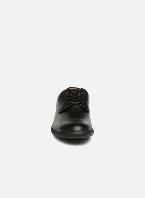Snøresko Clarks Unstructured Un VoyagePlain Sort se skoene på