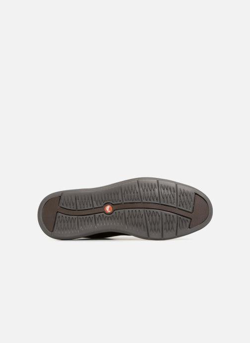 Zapatos con cordones Clarks Unstructured Un VoyagePlain Marrón vista de arriba
