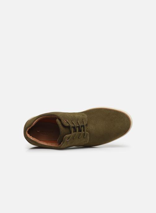 Zapatos con cordones Clarks Unstructured Un VoyagePlain Verde vista lateral izquierda