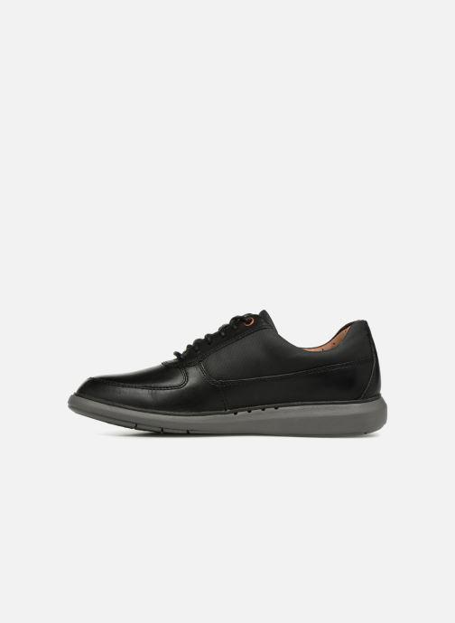 Chaussures à lacets Clarks Unstructured Un Voyage Lace Noir vue face