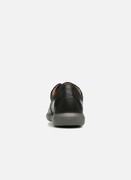 Chaussures à lacets Clarks Unstructured Un Voyage Lace Noir vue droite