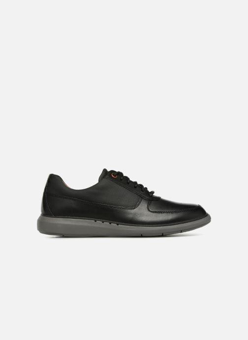 Chaussures à lacets Clarks Unstructured Un Voyage Lace Noir vue derrière