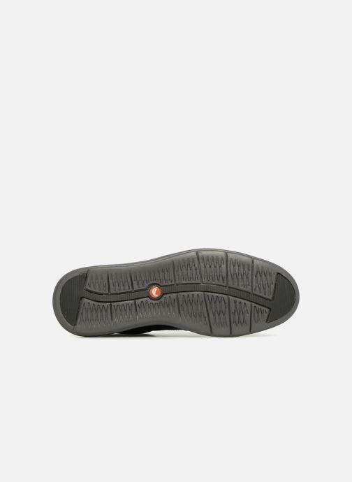 Chaussures à lacets Clarks Unstructured Un Voyage Lace Noir vue haut