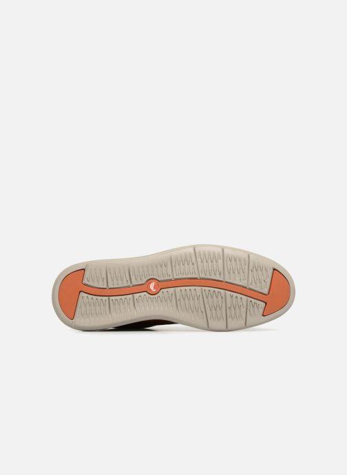Chaussures à lacets Clarks Unstructured Un Voyage Lace Marron vue haut