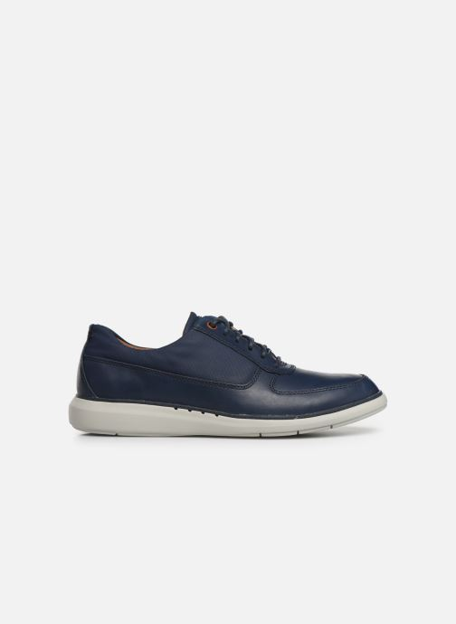 Lace-up shoes Clarks Unstructured Un Voyage Lace Blue back view