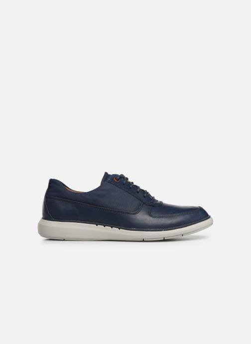 Zapatos con cordones Clarks Unstructured Un Voyage Lace Azul vistra trasera