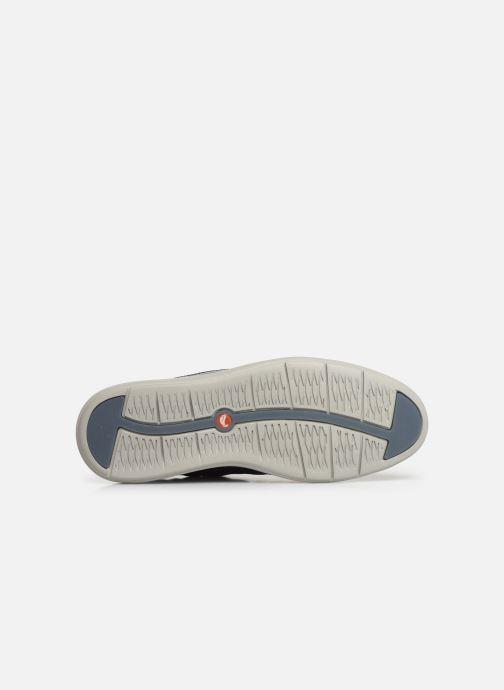 Zapatos con cordones Clarks Unstructured Un Voyage Lace Azul vista de arriba