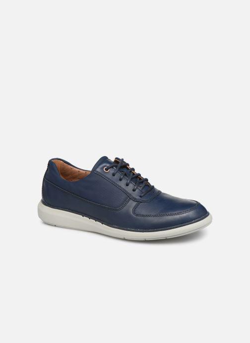 Lace-up shoes Clarks Unstructured Un Voyage Lace Blue detailed view/ Pair view
