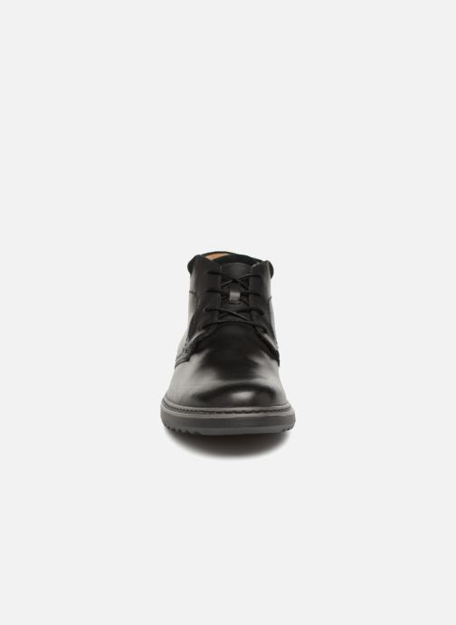 Ankle boots Clarks Unstructured Un Geo Mid GTX Black model view