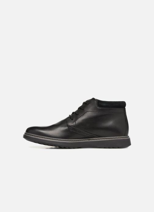 Stiefeletten & Boots Clarks Unstructured Un Geo Mid GTX schwarz ansicht von vorne