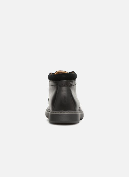Stiefeletten & Boots Clarks Unstructured Un Geo Mid GTX schwarz ansicht von rechts