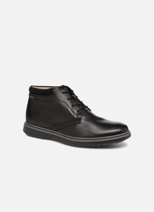 Bottines et boots Clarks Unstructured Un Geo Mid GTX Noir vue détail/paire