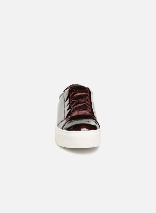 Baskets Marco Tozzi CRESS Bordeaux vue portées chaussures