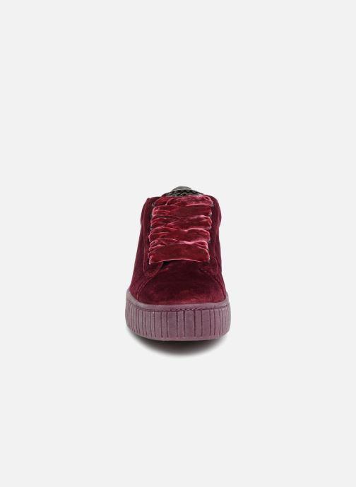 Baskets Marco Tozzi SALLY Bordeaux vue portées chaussures