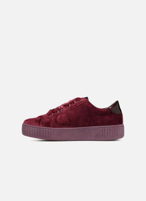 Trainers Marco Tozzi SALLY Burgundy front view