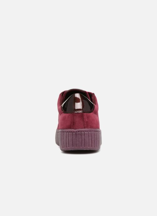 Trainers Marco Tozzi SALLY Burgundy view from the right