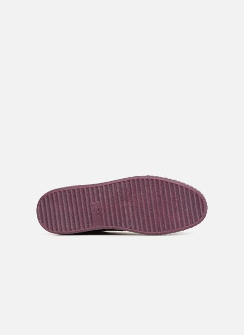 Trainers Marco Tozzi SALLY Burgundy view from above