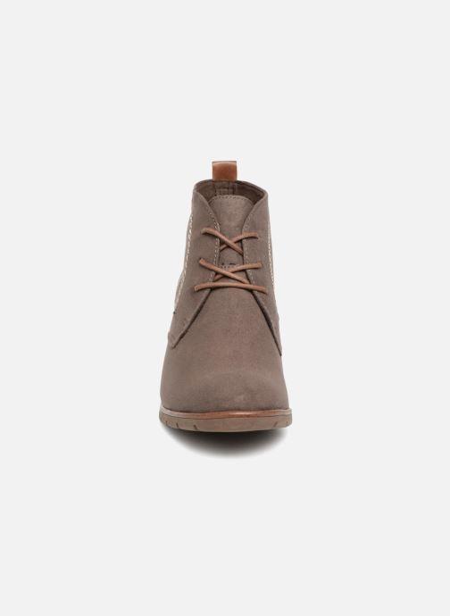 Bottines et boots Marco Tozzi MISS Marron vue portées chaussures
