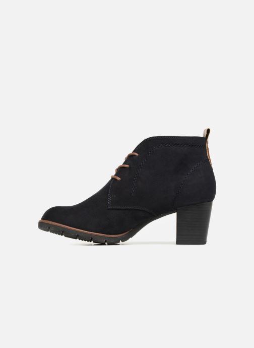 Boots en enkellaarsjes Marco Tozzi MISS Blauw voorkant
