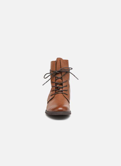 Bottines et boots Marco Tozzi RAREN Marron vue portées chaussures