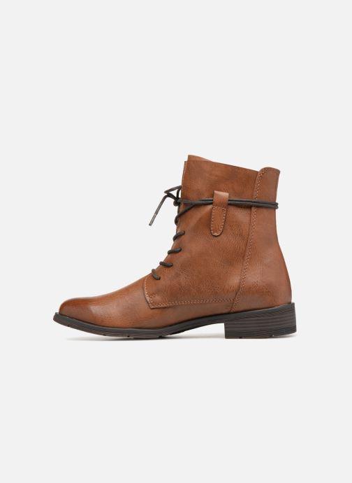 Bottines et boots Marco Tozzi RAREN Marron vue face