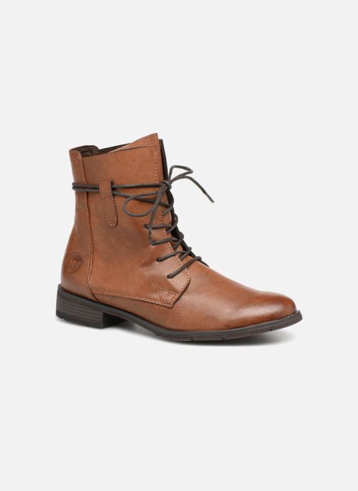 Bottines et boots Marco Tozzi RAREN Marron vue détail/paire