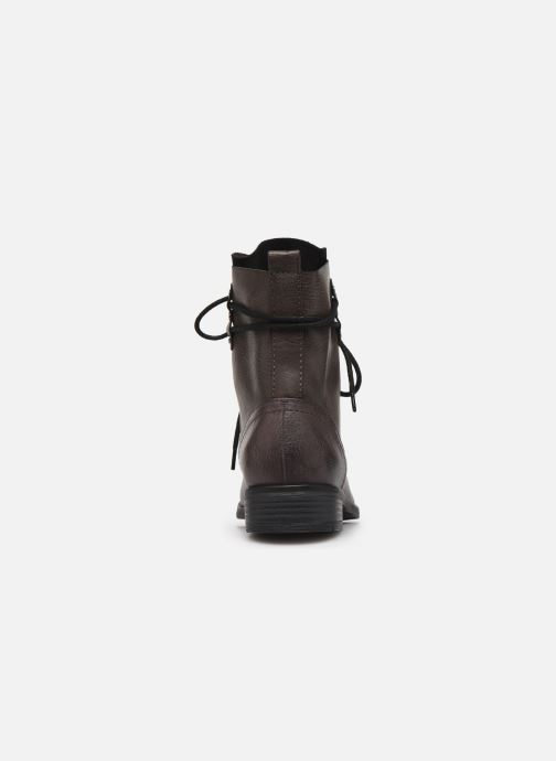 Ankle boots Marco Tozzi RAREN Grey view from the right