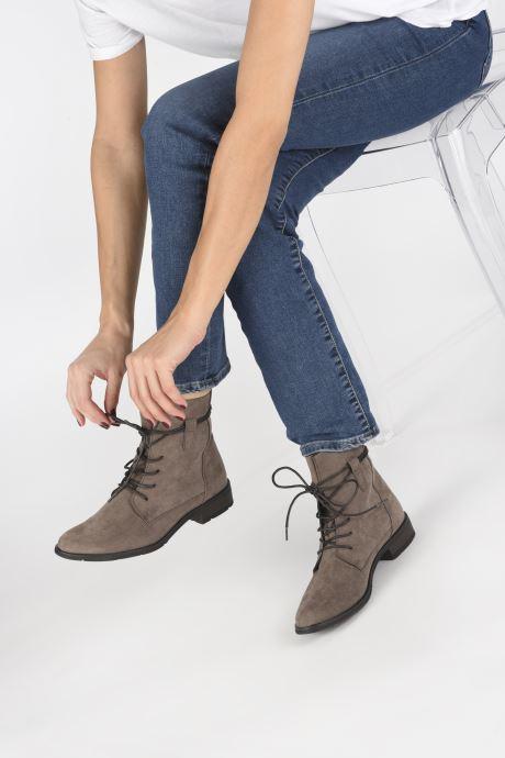 Bottines et boots Marco Tozzi RARO Gris vue bas / vue portée sac