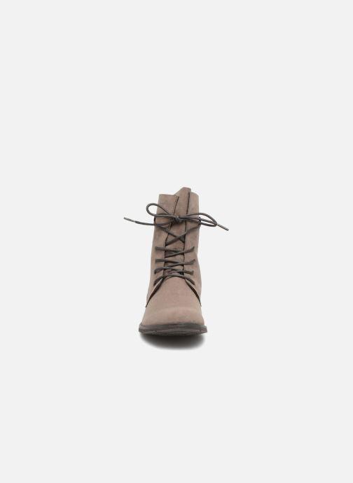 Bottines et boots Marco Tozzi RARO Gris vue portées chaussures
