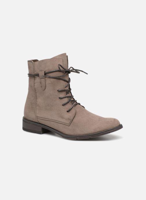 Bottines et boots Marco Tozzi RARO Gris vue détail/paire