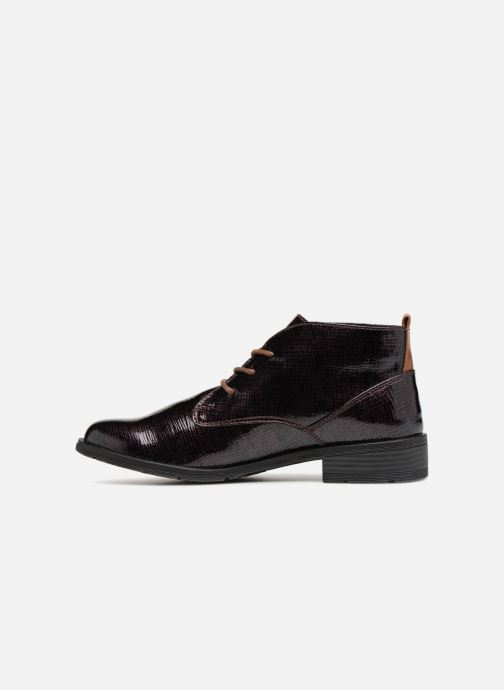 Lace-up shoes Marco Tozzi TORY Purple front view