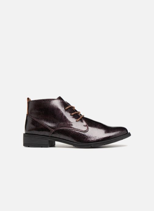 Lace-up shoes Marco Tozzi TORY Purple back view